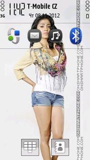 Shriya Saran theme screenshot