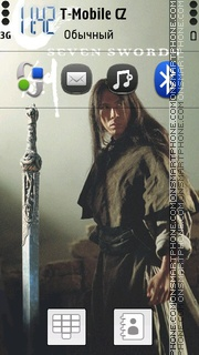 Seven swords Theme-Screenshot