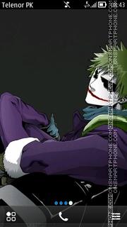 Скриншот темы Joker