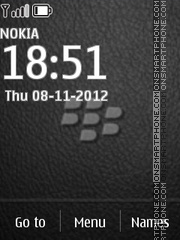 Blackberry 03 theme screenshot