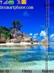 Summer Ocean theme screenshot