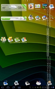 3d Icon Gola theme screenshot