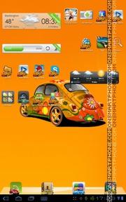 Скриншот темы BugCar