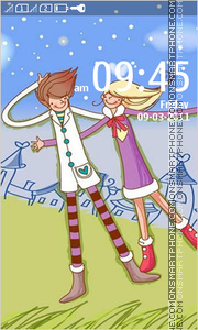 Love Animated 03 theme screenshot