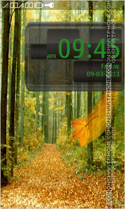 Autumn 03 theme screenshot