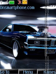 Dodge Challenger With Tone 01 theme screenshot