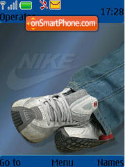 Nike Shox R4 Wsr theme screenshot