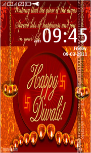 Diwali - Festival of Lights tema screenshot