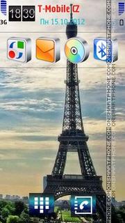 Romance Paris Theme-Screenshot