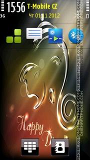 Light Happy Diwali theme screenshot
