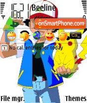 Pok theme screenshot