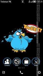 Capture d'écran Tweety thème