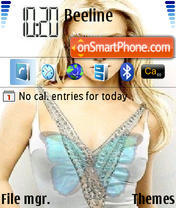Britney 05 theme screenshot