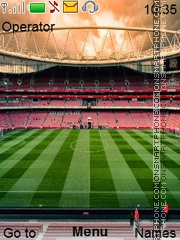 Arsenal Emirates theme screenshot