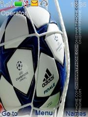 Champions League tema screenshot