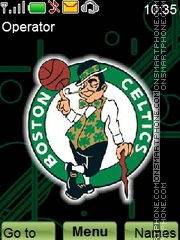 Celtics theme screenshot
