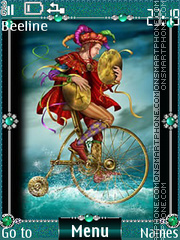Cards tarot coins tema screenshot