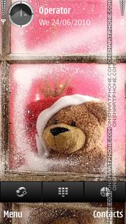Скриншот темы New Year Teddy
