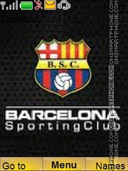 BarcelonaSC theme screenshot