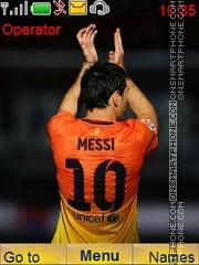 Messi2012 theme screenshot