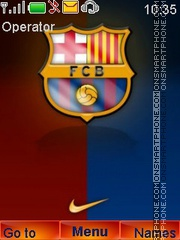 Barcelona FC tema screenshot