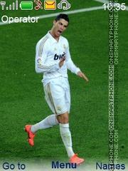 Cristiano Ronaldo 7 2012 es el tema de pantalla