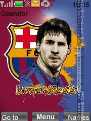 Messi2 theme screenshot