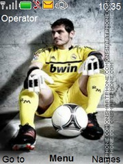 Casillas theme screenshot