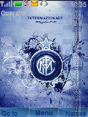 Internazionale Fc theme screenshot