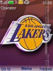 Lakers theme screenshot