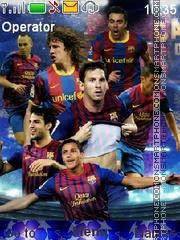 Barcelona theme screenshot