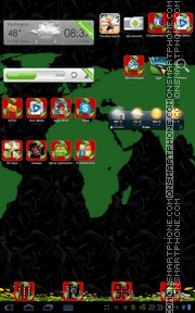 Gle Recycling tema screenshot