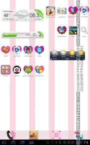 Hearts 09 theme screenshot
