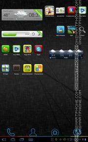 Capture d'écran Color Box thème