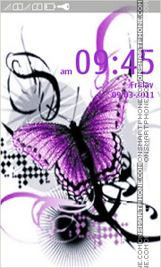 Butterfly 33 theme screenshot