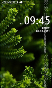 Greeny Dream theme screenshot