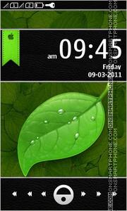 Greendroid tema screenshot