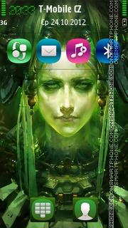 Nocturne ArtFace tema screenshot
