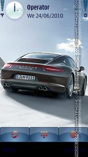 Скриншот темы Porsche 2