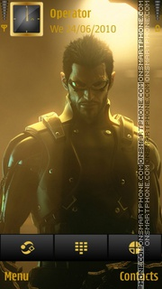 Deus ex human revolution theme screenshot