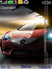Racing Cars tema screenshot
