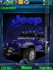 Jeep theme screenshot