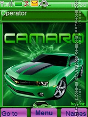 Camaro theme screenshot