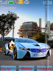 Bmw Car theme screenshot