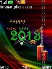 New Year 07 theme screenshot