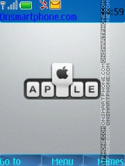 Скриншот темы Apple 25