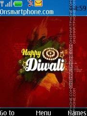 Скриншот темы Happy Diwali 2015