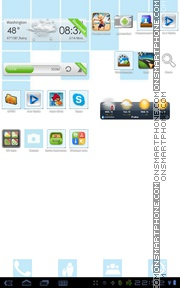 Summer 2013 theme screenshot