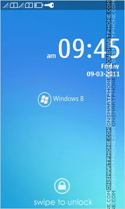 Windows 8 10 theme screenshot