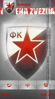 Zvezda Crvena tema screenshot